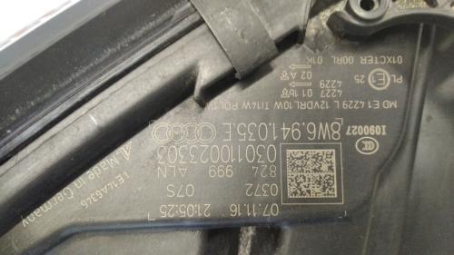8W6941035.E Audi A5 B9 vasak esituli FULL LED (13)