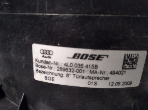 4F0035415B 4L0035415B Audi kõlar (2)